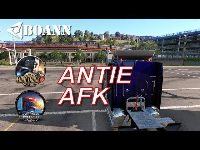 antieAFK ETS VS ATS #trukkersmp