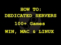 How to Setup a Dedicated Server 100 Games 7 Days to Die, Ark, CS GO, GMod, RUST SteamCMD