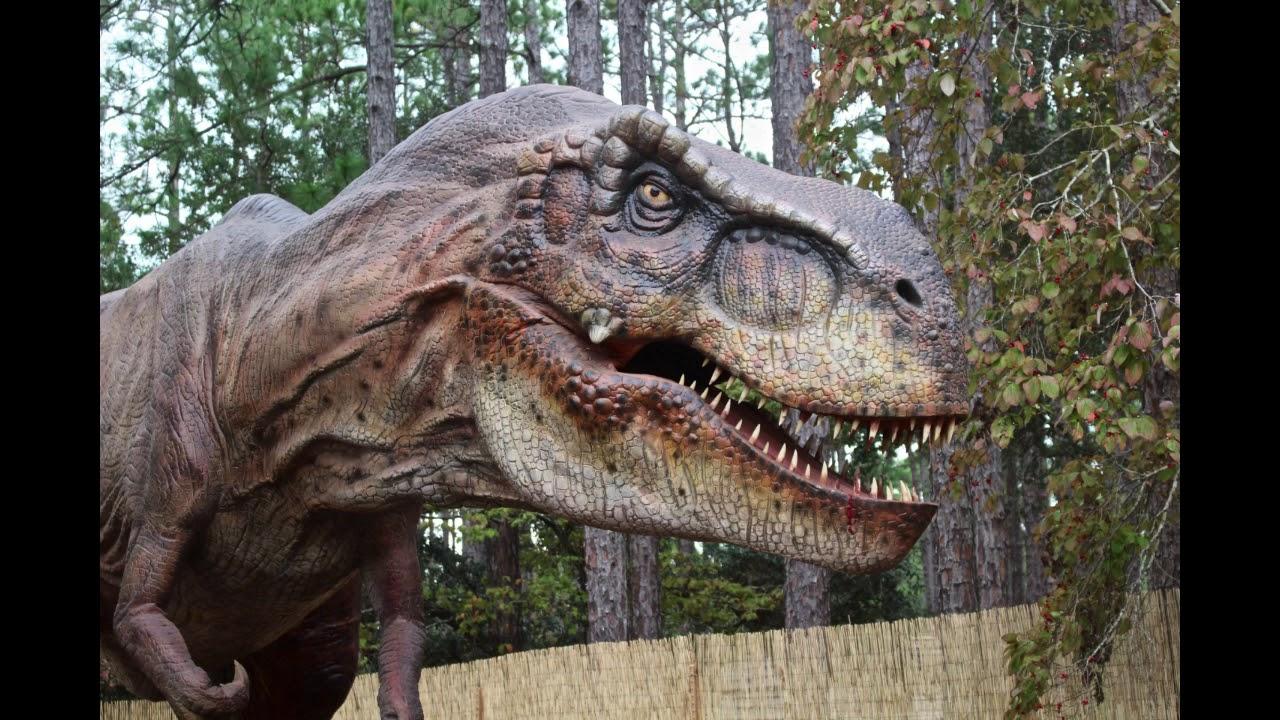 Dinosaurs At Brookgreen Gardens