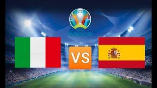 Италия Испания прямой эфир футбол ЕВРО 06 07 2021 смотреть онлайн прямая трансляция прогноз матча