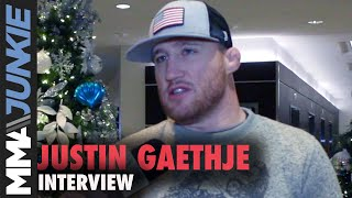Justin Gaethje gives thoughts on lightweight division, feels next in line for title shot