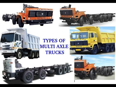 All You Want to Know About Indian MULTI AXLE TRUCKS (TAG, PUSHER, LOAD,  LIFT, TANDEM)