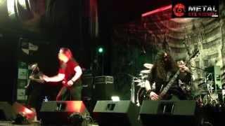 Cryptopsy - Benedictine convulsions (live Kmasu, Santiago, Chile 05-12-14)