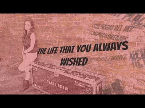 Talia Denis - Like This Is The End (Official Lyric Video)