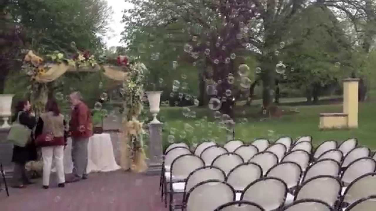 Bubble Machine For Outdoor Ceremony Or Cocktail Hour