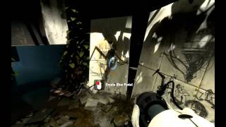 Portal 2 First Gameplay
