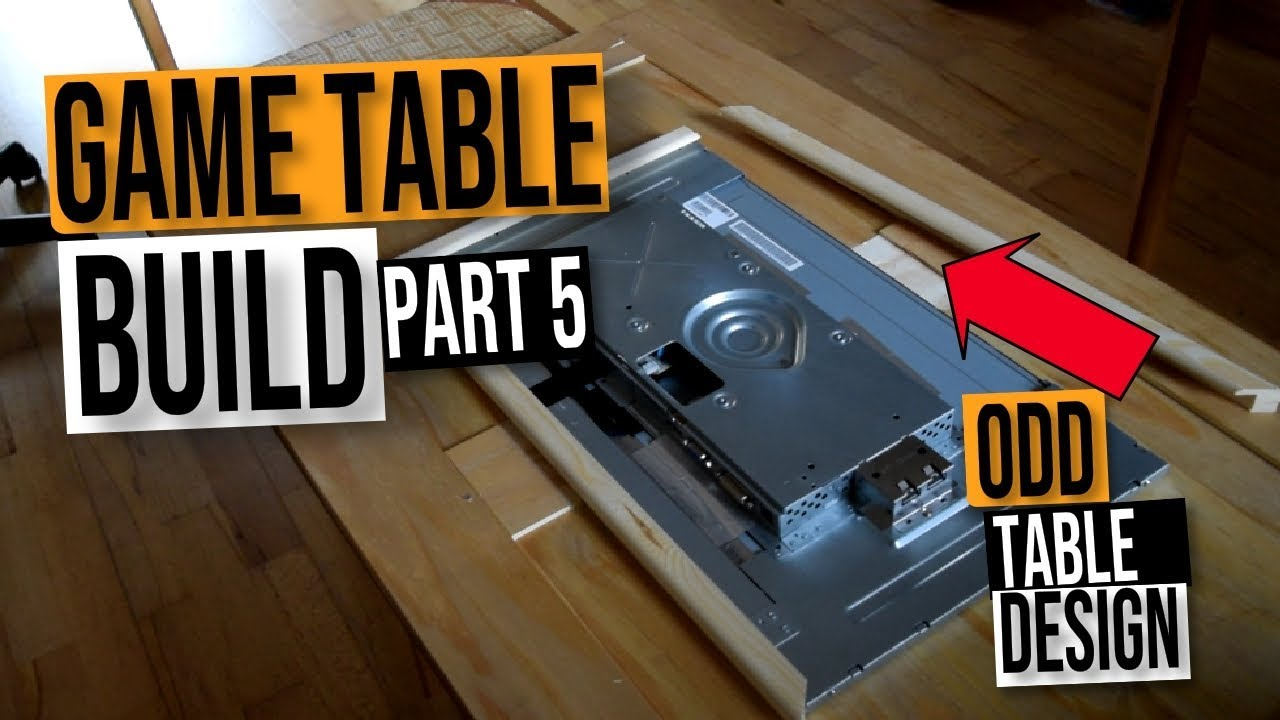 Mame Coffee Table.Mame Arcade Coffee Table Diy Build Guide Part5