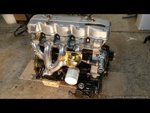 Mitsubishi Sigma18 - Engine Ready For Refitting