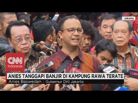 Kampung Rawa Terate Kebanjiran, Gubernur Anies akan Inspeksi ke Pabrik-Pabrik