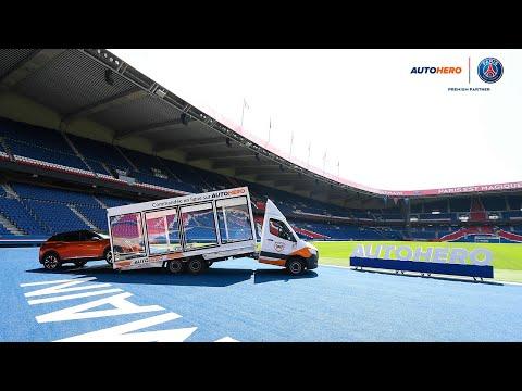 Autohero devient partenaire global du Paris Saint-Germain et franchit une nouvelle étape dans son offensive en France