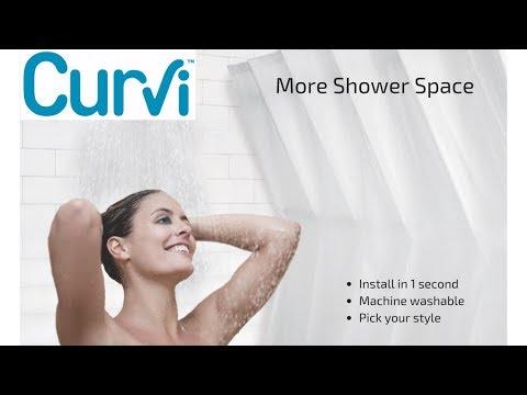 Curvi Shower Curtains