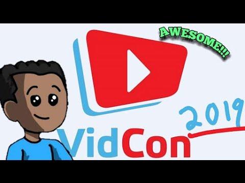 """VidCon 2019 Recap   """"Animated"""""""