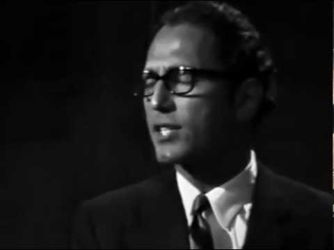 Tom Lehrer - The Hunting Song - LIVE FILM From Copenhagen In 1967