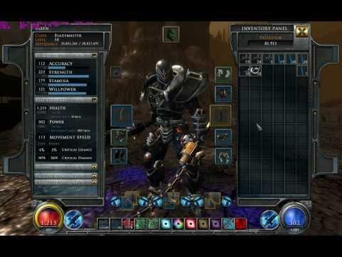 Hellgate London PC My Super Blademaster Lvl 50