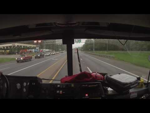 Engine Co. 208 Ride Along - Structure Fire