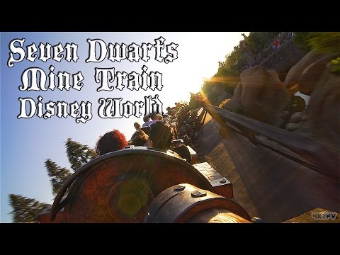 [4K] Seven Dwarfs Mine Train - Disney World - Complete Ride