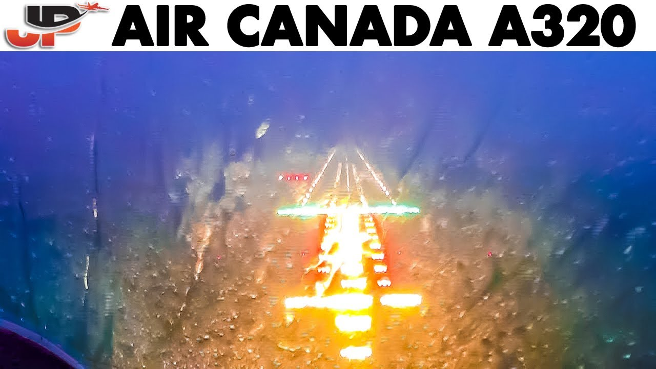 Download BAD WEATHER Landing in St John's | AIR CANADA🇨🇦 Airbus A319