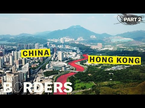 China is erasing its border with Hong Kong - YouTube