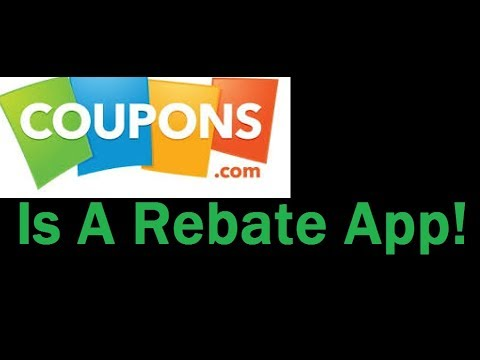 Coupons.com Is A Rebate App! The Future Is Here!???