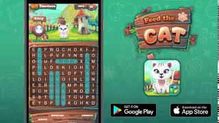 Feed The Cat - Word Search Mobile Game