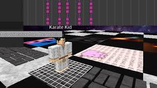Roblox Karate attacco base animazione