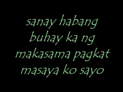 masaya ako sayo by curse one