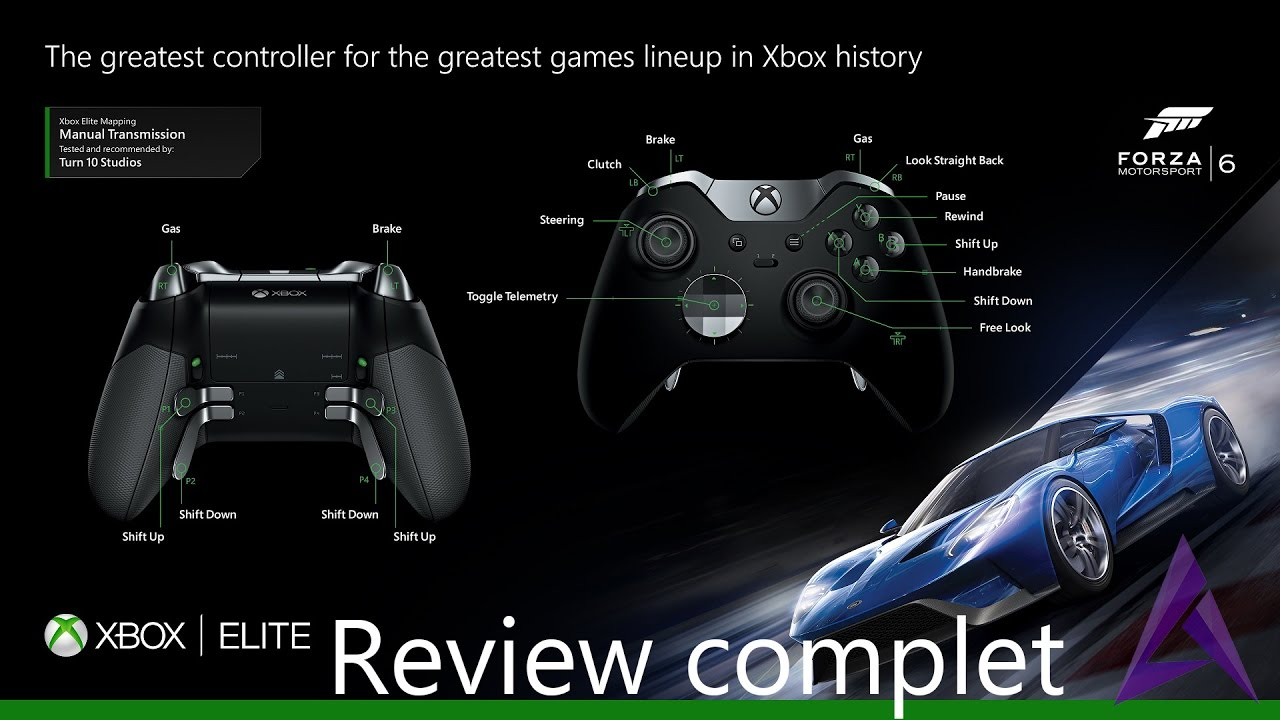 xbox one manette lite review complet youtube
