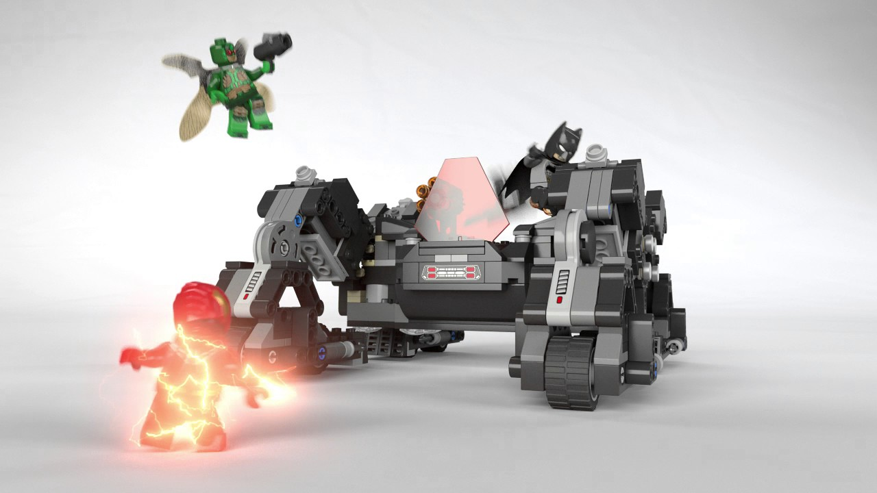 Knightcrawler Attack - Justice League - LEGO DC Super Heroes - 76086  Product Animation ea304112d2