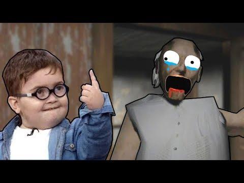 AHMED SHAH PLAY GRANNY   Android Horror Game   Pathan Ka Cute Bacha