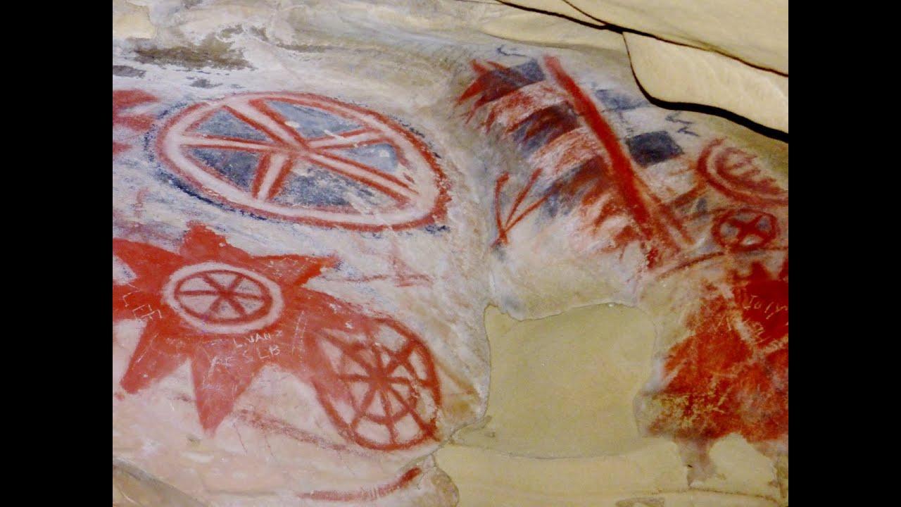 Painted Cave Chumash Pictographs Of Santa Barbara California