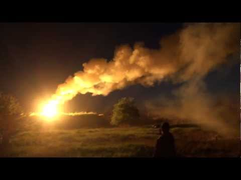 Giant military flare - Let there be light! [Full HD]