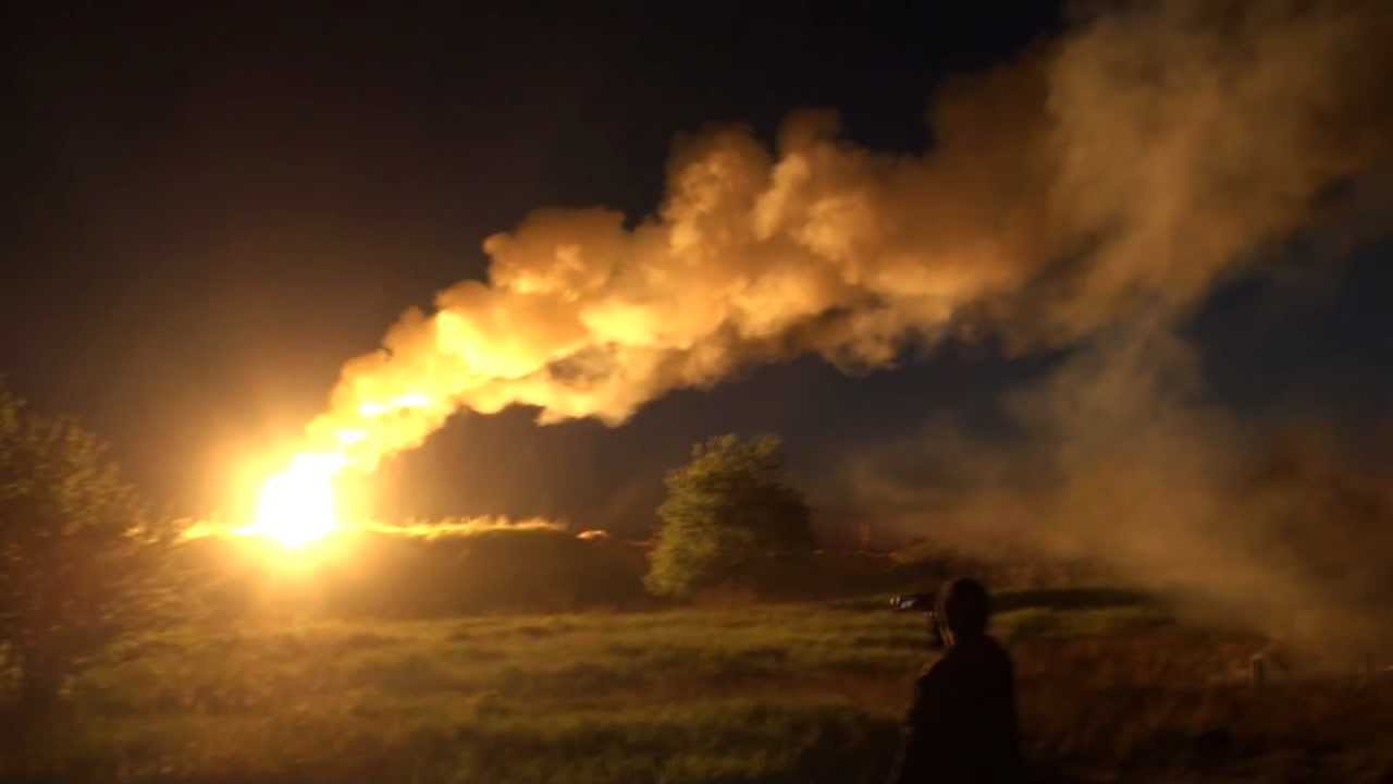 giant military flare - let there be light   full hd