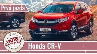 HONDA CR-V 2018: Stačí jej malý benzínový motor 1.5 VTEC Turbo?
