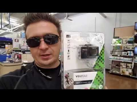 $79 VIVITAR vs GoPro You Decide VIVITAR Unboxing and Review + Video Quility TEST ZIMALETA VLOG