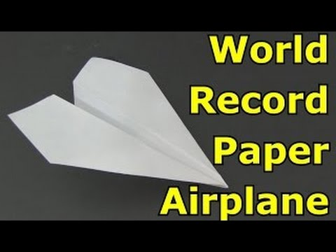 Origami Airplane How To Make Paper That Flies Far