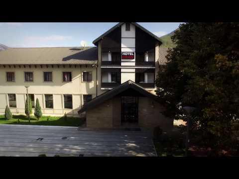 Hotel Komovi. Andrijevica. Montenegro. Drone footage. Андриевица. Черногория. Отель Комови