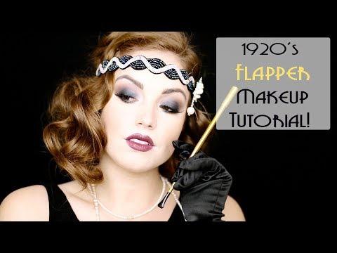 1920's FLAPPER MAKEUP   |   Makeup Through the Decades!