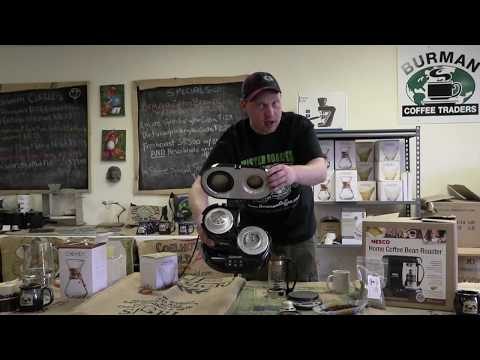 How To Use Your Nesco Professional 1010 Home Coffee Roaster - Burman Coffee Traders