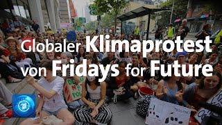 Erneut weltweite Klimaproteste von Fridays for Future