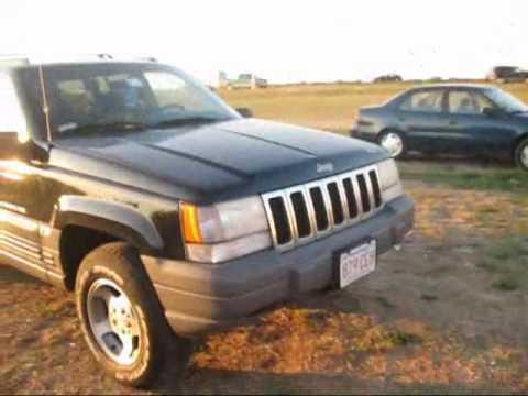 1997 jeep grand cherokee laredo 4x4 start up exhaust. Black Bedroom Furniture Sets. Home Design Ideas