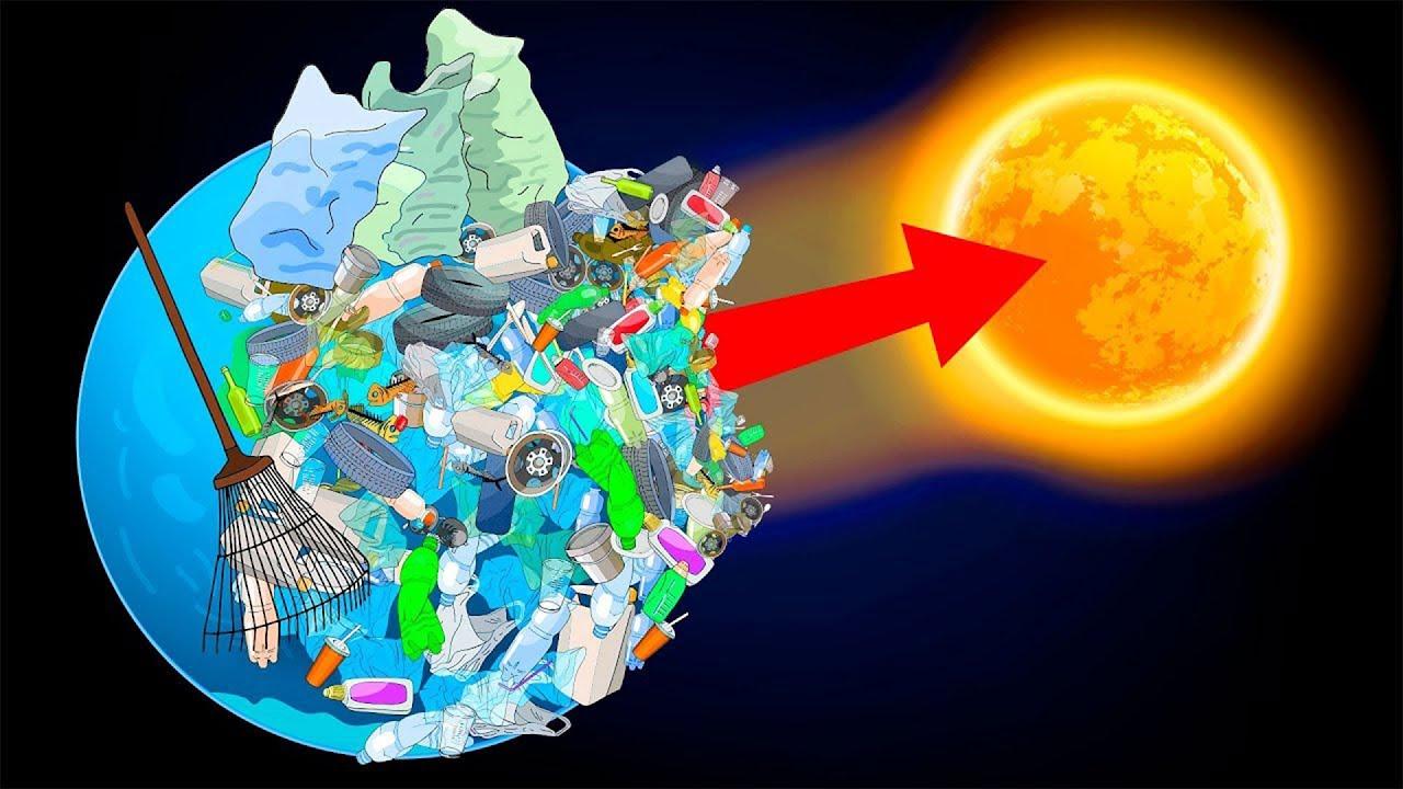 ليه منرميش النفايات في الفضاء؟