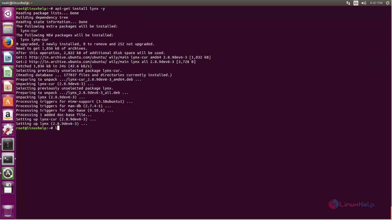 How to install Command Line Browser in Linux | LinuxHelp Tutorials