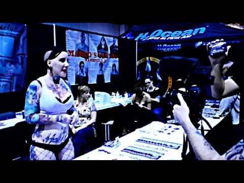 Jeselyn at The Rhode Island Tattoo Expo 2013