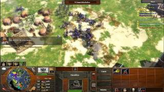 Let's Play Age Of Empires Iii Together 003# Mit Megagamazon - Lebkuchen Macht Alle Nieder