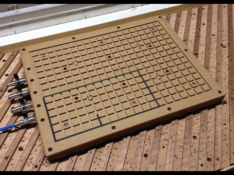 Making a  vacuum table