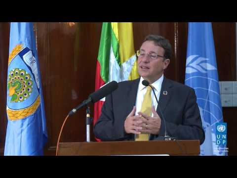 UNDP Administrator, Achim Steiner's Lecture at the University of Yangon