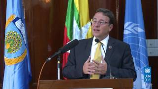 UNDP Administrator, Achim Steiner's Lecture at the University of Yangon thumbnail
