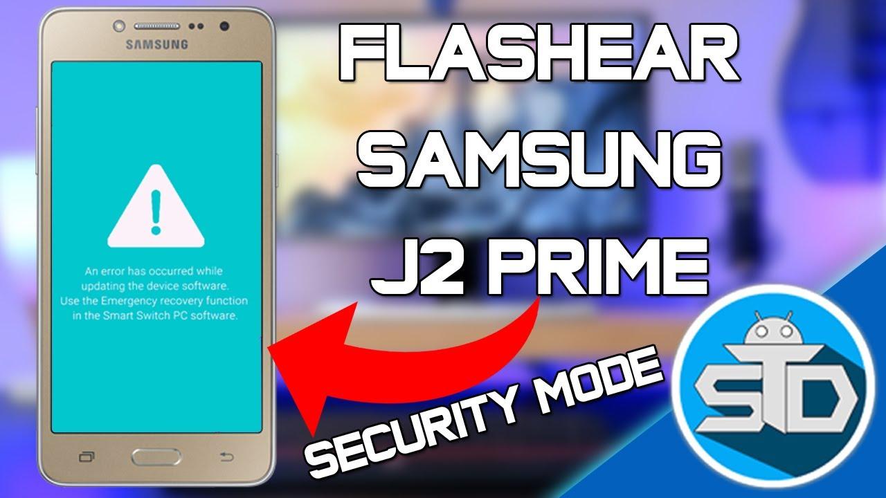 como instalar firmware android samsung j2 prime