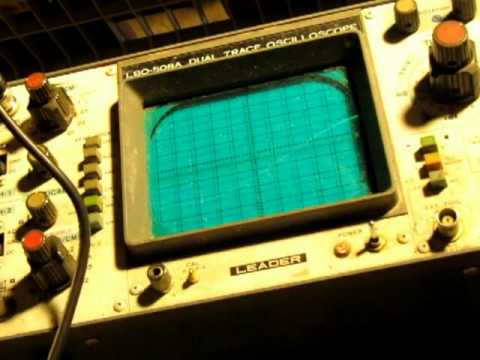 how to connect oscilloscope to function generator