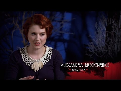 Alexandra Breckenridge talks about Moira O'Hara on American Horror Story